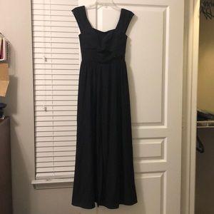 Keepsake black maxi dress with keyhole